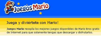 Juegos Mario - Juegos de Mario Bros, Super Mario Juegos, Juegos Mario de PC y Flash Online_1252949576438
